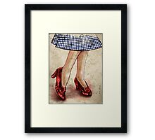 the sum of our constituent parts is plugged soulfully together in friendship Framed Print