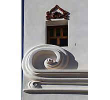 San Xavier Building Detail Photographic Print