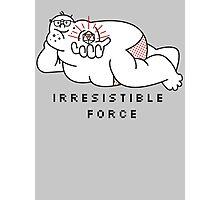 Irresistible Force Photographic Print