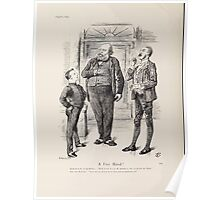 Cartoons by Sir John Tenniel selected from the pages of Punch 1901 0182 A Free Hand Poster