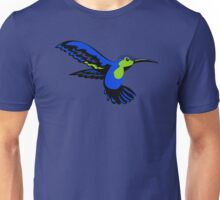 Birds: Hummingbird in Flight Unisex T-Shirt