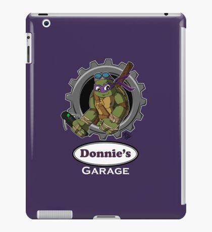 Donnie's Garage iPad Case/Skin