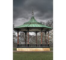 Park Bandstand Photographic Print