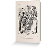 Cartoons by Sir John Tenniel selected from the pages of Punch 1901 0059 Dearly Bought Greeting Card