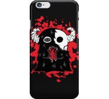 Skullface Monster Has Your Heart (Splatter Version) iPhone Case/Skin