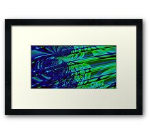 Through a Looking Glass Framed Print