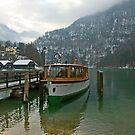 Old boat on Königsee by julie08