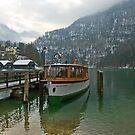 Old boat on Königsee by julie08