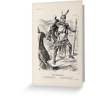 Cartoons by Sir John Tenniel selected from the pages of Punch 1901 0104 The McGladstone Greeting Card
