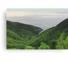 Ocean Valley Canvas Print