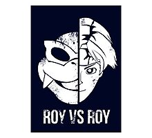 Roy v Roy Photographic Print