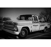 Truck BW Photographic Print