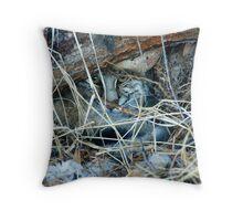 Bobcat Underground Throw Pillow