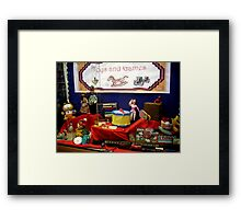 TOYS AND GAMES Framed Print