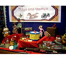 TOYS AND GAMES Photographic Print