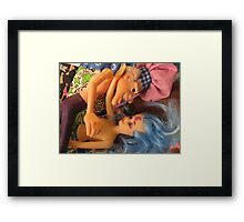 His Awful Breath Framed Print