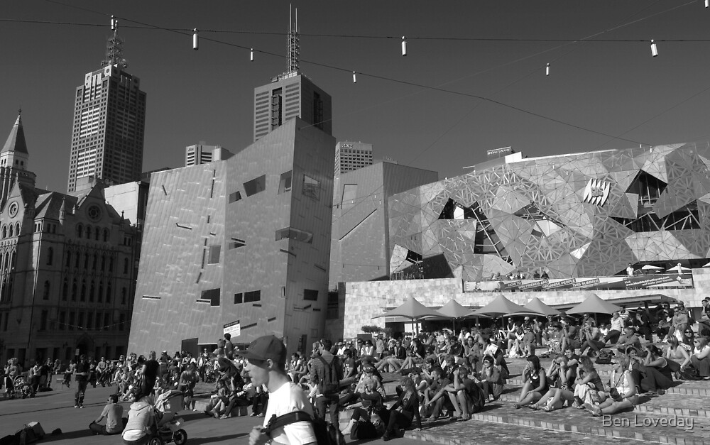 Federation Square by Ben Loveday