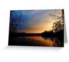 Charnwood Lake Greeting Card