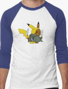 Shingeki No Thunder Men's Baseball ¾ T-Shirt
