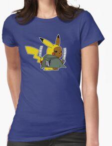 Shingeki No Thunder Womens Fitted T-Shirt