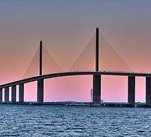 Sunshine Skyway Bridge by Ann J. Sagel