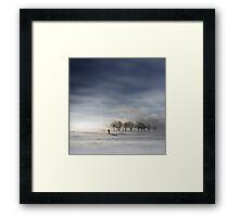 Winter Tears Framed Print