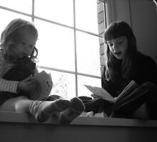 Storytime Sisters by rhian mountjoy