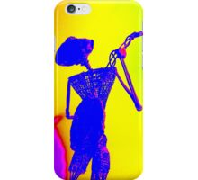 The Banjo Player iPhone Case/Skin