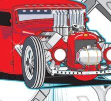 Hot Rod Garage Sticker