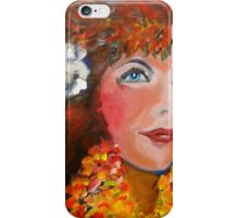 Hula - Sweet Blue Eyed Leilani iPhone Case/Skin