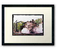 Locomotive & Steam Jenny  Framed Print