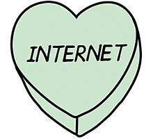 Internet Heart Photographic Print
