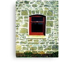 Window into History Canvas Print