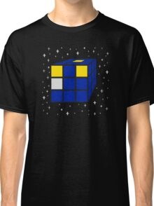 Time and Relative Dimensions in Squares Classic T-Shirt