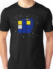 Time and Relative Dimensions in Squares Unisex T-Shirt