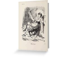 Cartoons by Sir John Tenniel selected from the pages of Punch 1901 0098 What Next Greeting Card