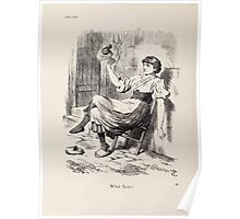 Cartoons by Sir John Tenniel selected from the pages of Punch 1901 0098 What Next Poster
