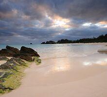 Evening on Horseshoe Bay, Bermuda by Lucy Hollis