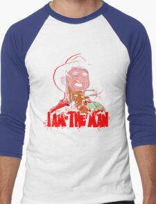 Man of your Dreams Men's Baseball ¾ T-Shirt