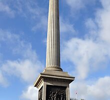 Nelsons Pillar, London by Pat Herlihy