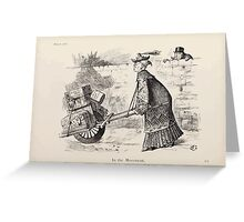 Cartoons by Sir John Tenniel selected from the pages of Punch 1901 0192 In the Movement Greeting Card