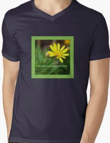 I'll give you a daisy a day tote bag  Mens V-Neck T-Shirt