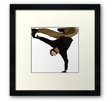 Break dance  Framed Print