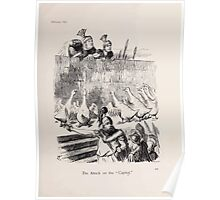 Cartoons by Sir John Tenniel selected from the pages of Punch 1901 0119 The Attack on the Capital Poster