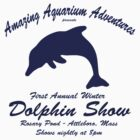 Annual Winter Dolphin Show by Jeff Newell