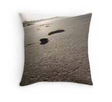 Examine the Beauty - Green Point Throw Pillow