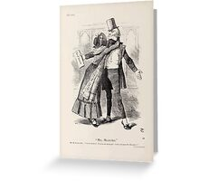 Cartoons by Sir John Tenniel selected from the pages of Punch 1901 0076 Mrs Micawber Greeting Card