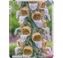 Grecian Foxglove iPad Case/Skin