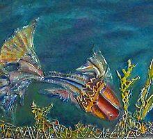 Prehistoric Seas (Best viewed large) by MelDavies