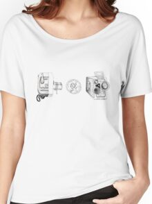 Vintage Movie Cameras Women's Relaxed Fit T-Shirt